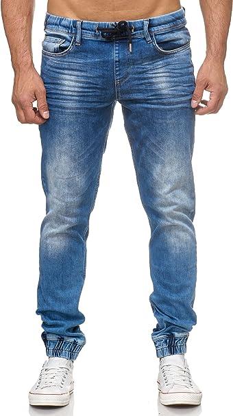 Tazzio Fashion Herren Jeanshosen Blau