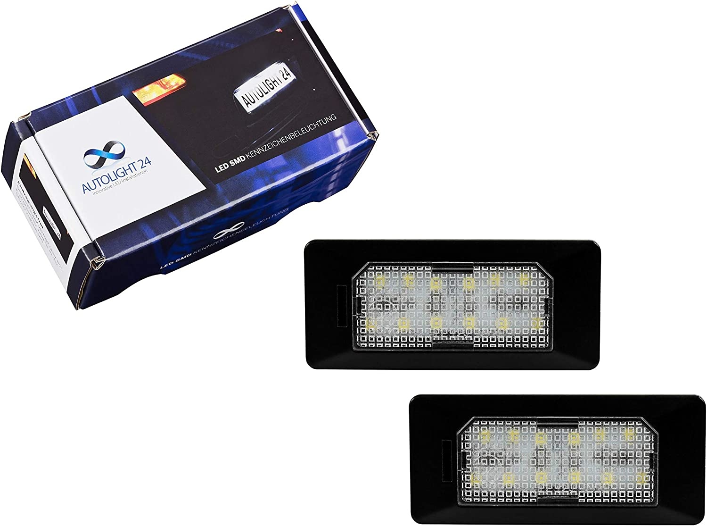 SMD LED iluminación interior Skoda Fabia 2 II 5j luz interior luz interior set