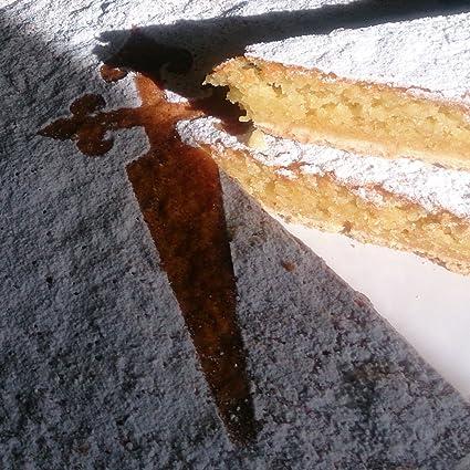 Tarta de Santiago Artesanal 700 g. Certificada por Indicación Geográfica Protegida (IXP) Galicia.: Amazon.es: Alimentación y bebidas