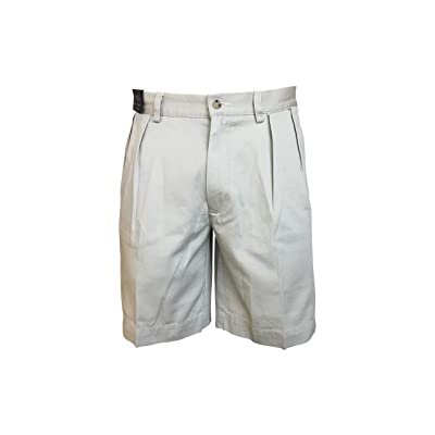 Polo Ralph Lauren Mens Pleated Classic-Fit Shorts (30, Khaki) at Amazon Men's Clothing store
