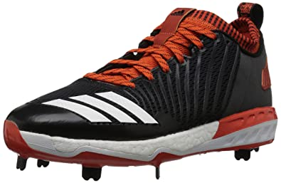 separation shoes 62d14 0137d adidas Mens Freak X Carbon Mid Baseball Shoe, BlackWhiteCollegiate  Orange,