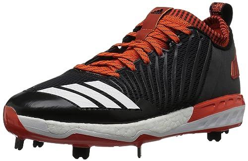 brand new 1ca6b c4e84 Adidas Men s Freak X Carbon Mid Baseball Shoe, Black White Collegiate  Orange,
