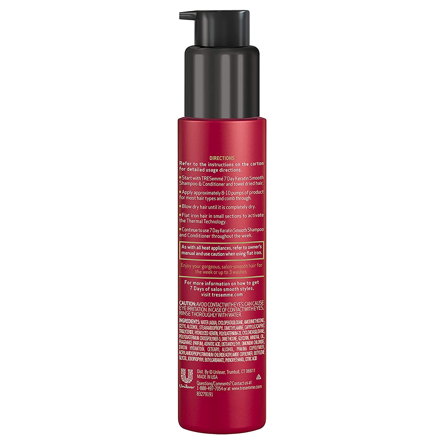 Clarifier for hair requires caution in applying