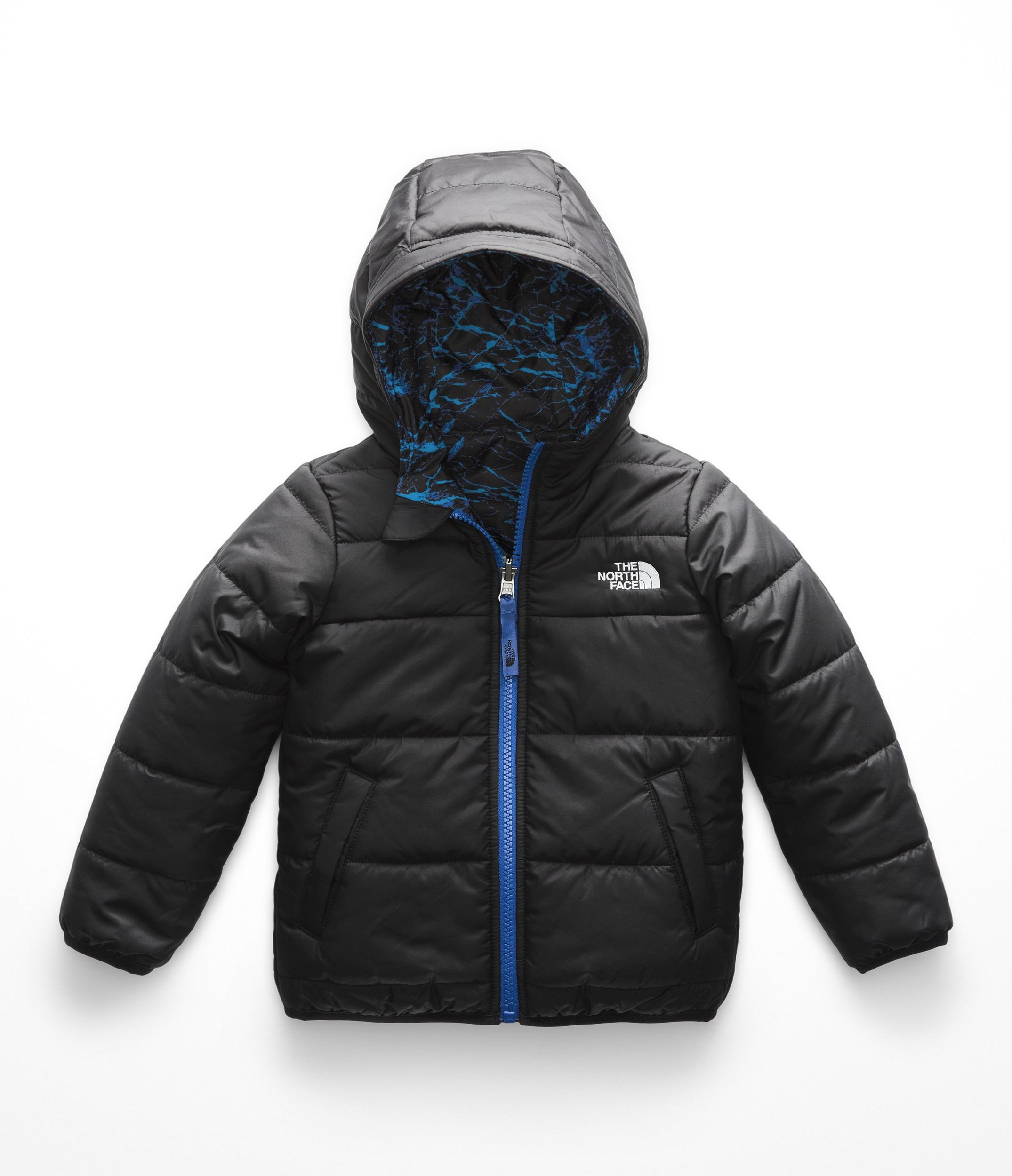 The North Face Todd Boys Reversible Perrito Jacket - TNF Black - 4T
