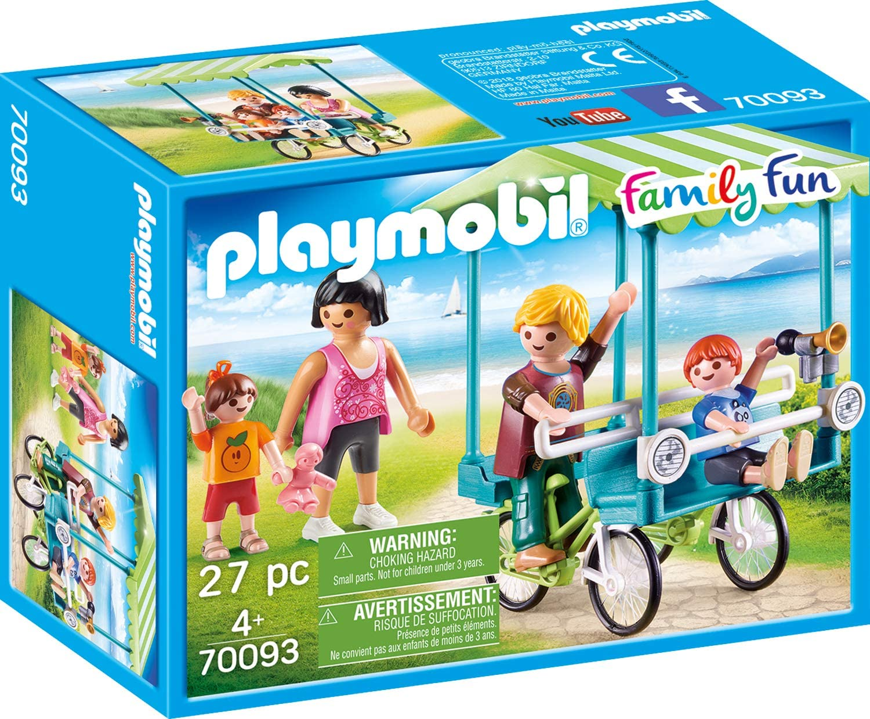 PLAYMOBIL- Family Fun Figuras y Juegos de contrucción, Color carbón (70093)