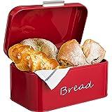 GranRosi boîte à pain - compacte boîte à pain métallique style classique des années 40