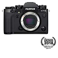 Fujifilm X-T3 Mirrorless Digital Camera (Body Only) - Black