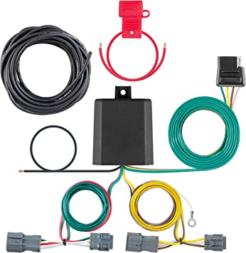 CURT Manufacturing 56347 Custom Vehicle Trailer Wiring Harness for Towing