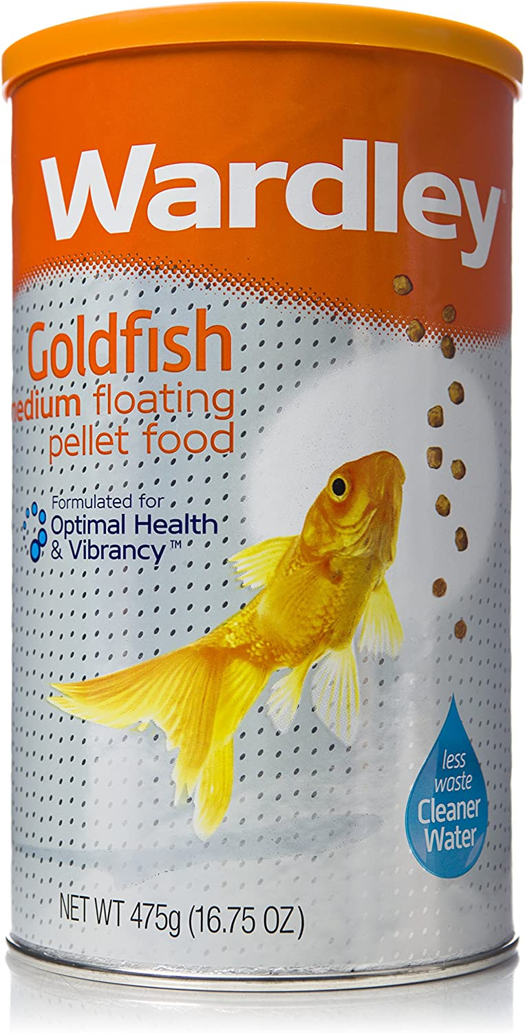 Wardley Premium Medium Floating Goldfish Food Pellets - 16.75oz