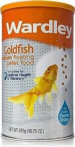 Wardley Premium Medium Floating Goldfish Food Pellets - 16.75oz