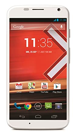 Motorola Moto X (XT1058) 16GB Unlocked GSM 4G LTE Android Phone w/ 10MP Camera - White