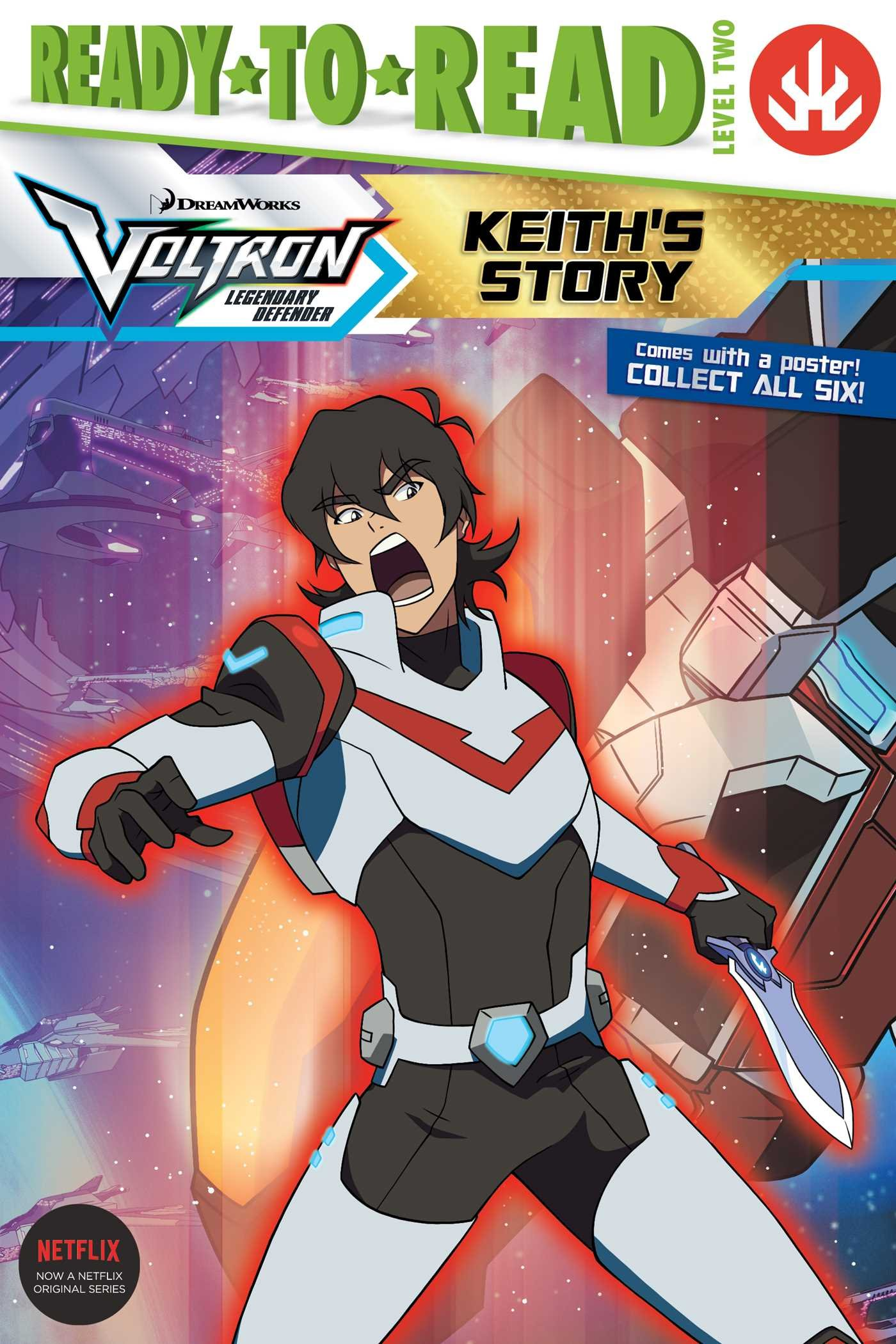 Keith's Story (Voltron Legendary Defender: Ready-to-Read Level 2)