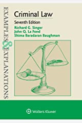 Examples & Explanations for Criminal Law (Examples & Explanations Series) Kindle Edition