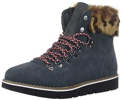 eb2cd7d55c12d Skechers BOBS Women's Bobs Rocky. Fashion Fur Trim Hiking Boot w Memory  Foam, Charcoal