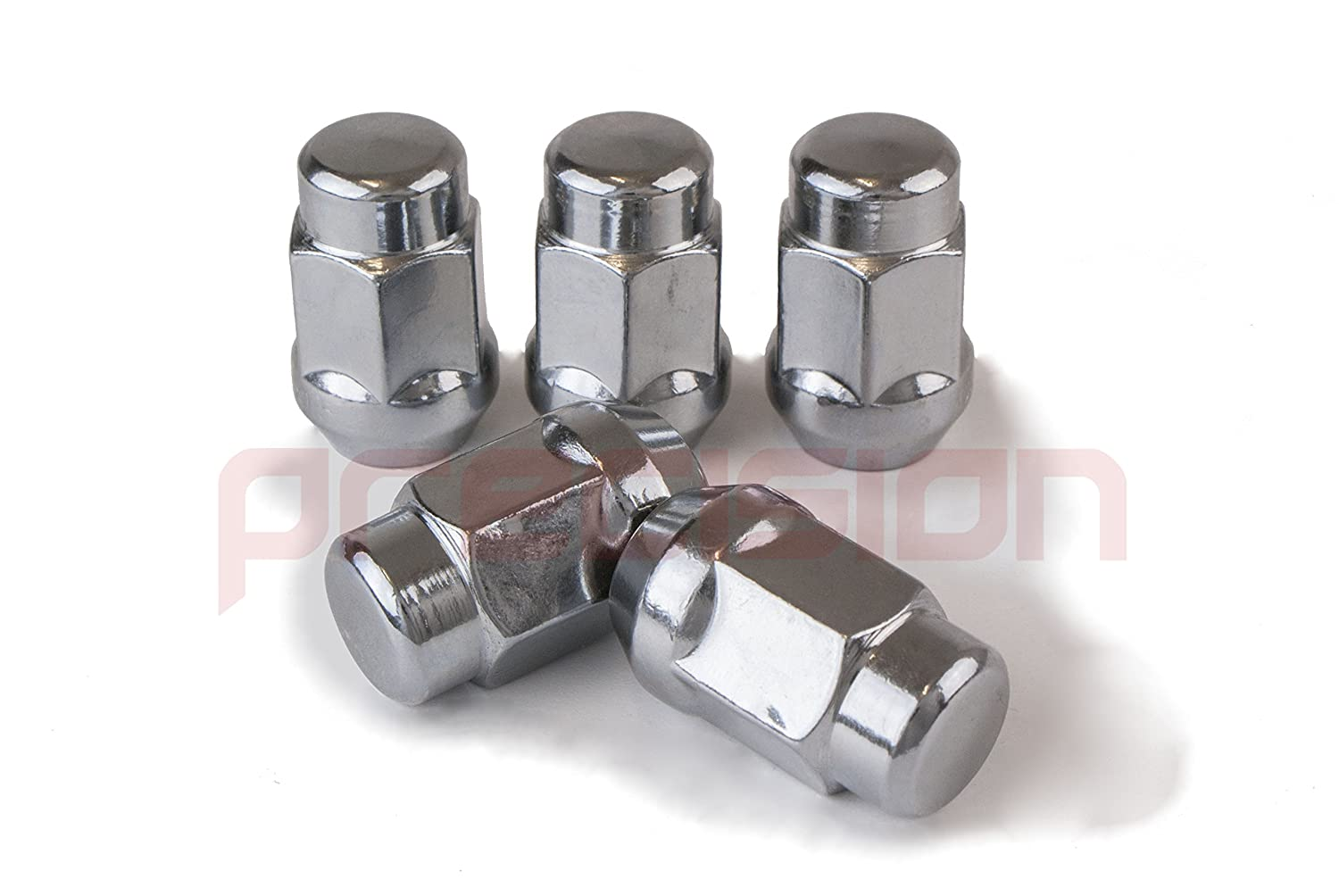 12 x Chrome Alloy Wheel Nuts and 4 x Locking Nuts for Ḟord Sierra with Aftermarket Wheels Part No 12NM10+N10551