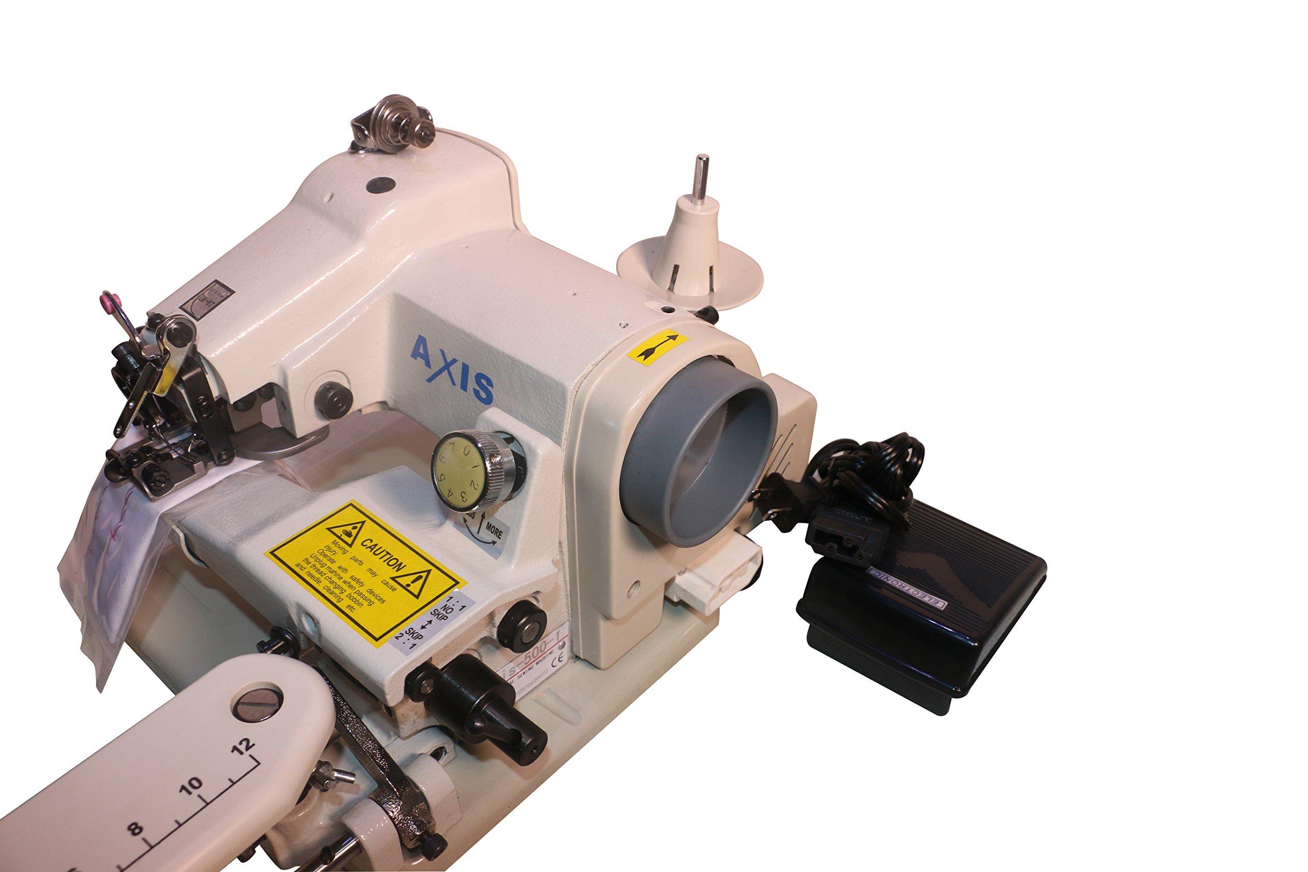 Dressmaker Sewing Machine Desk Blindstitch Hemmer WD-500 Portable Blind Stitch Hemming Machines Alterations Hem Pants