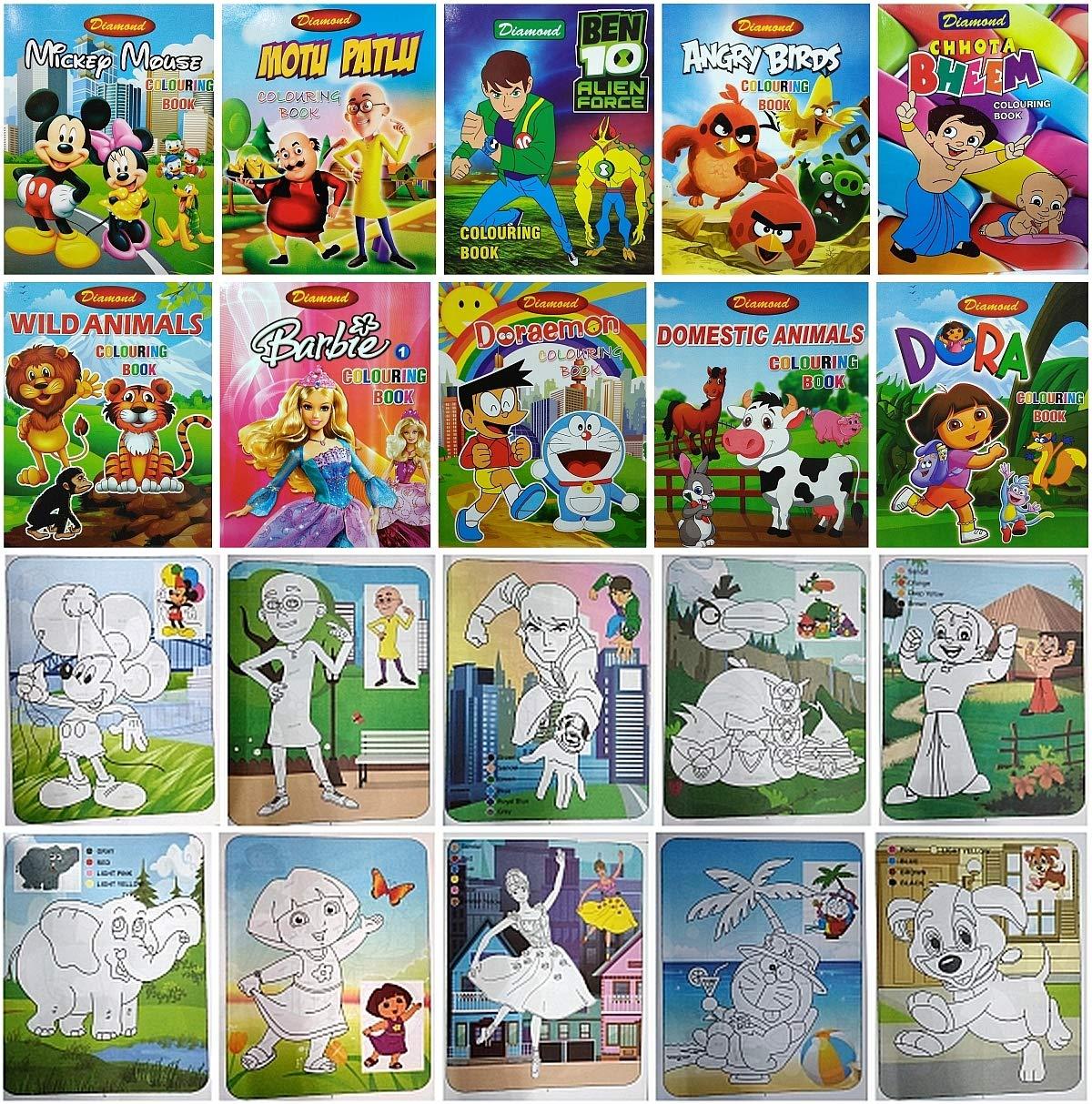 5000 Chota Bheem Coloring Book Games Best HD
