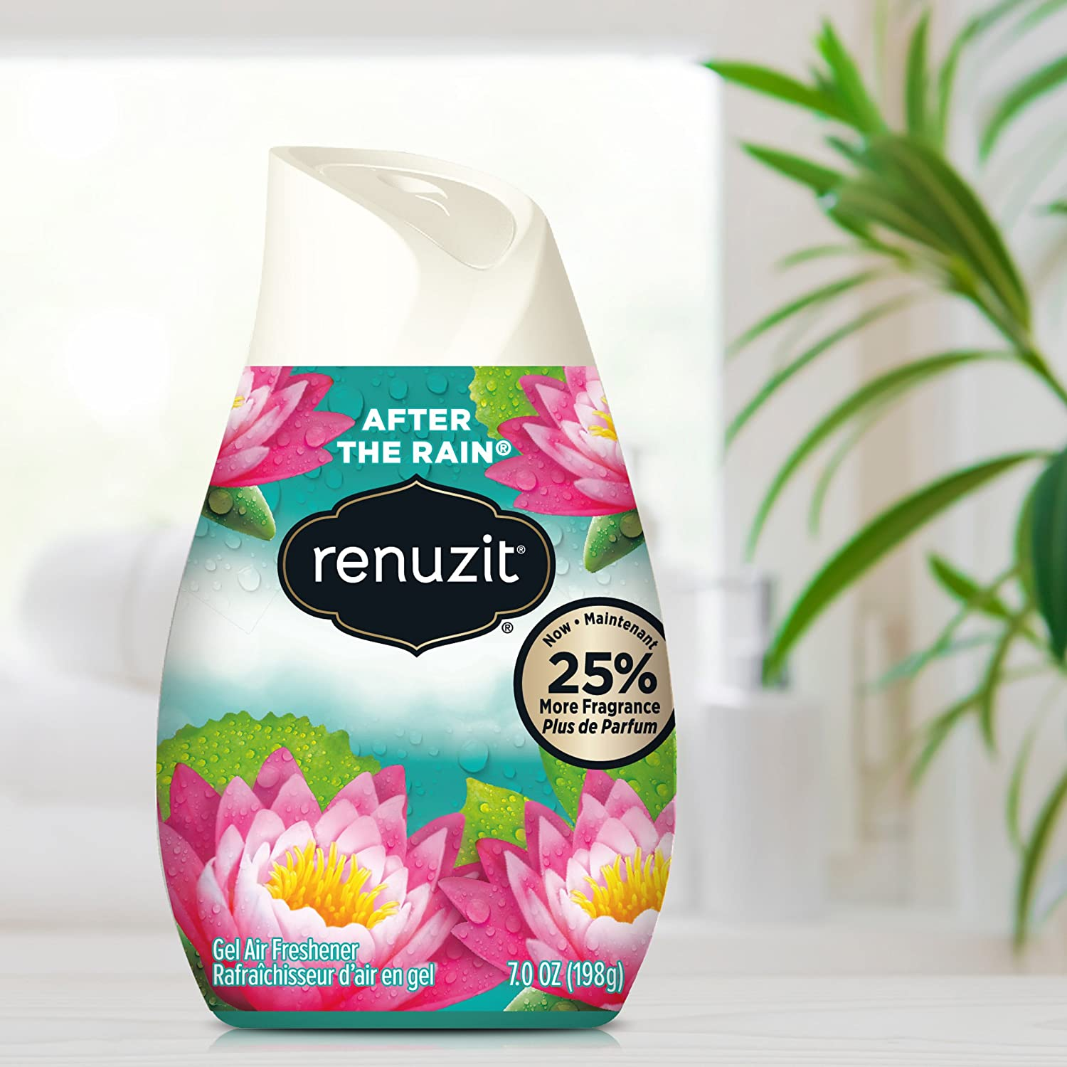 Gel Air Freshener >> Renuzit Adjustable Air Freshener Gel After The Rain 7 Ounces 6 Count