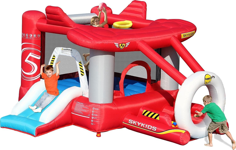 HappyHop - Happy Hop 9237. Castillo Hinchable Forma de avión ...