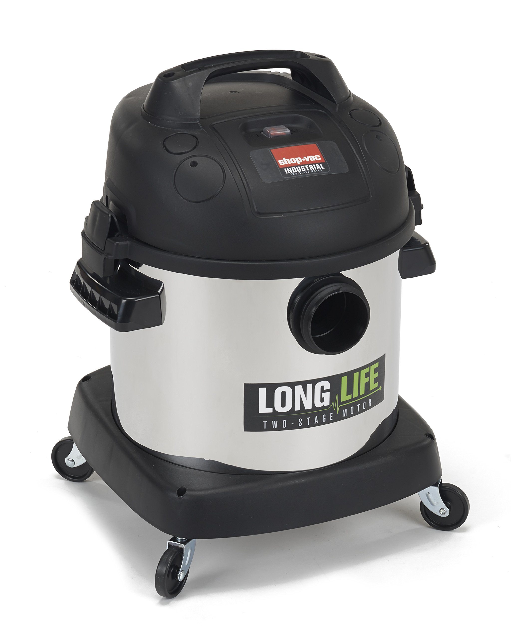 Shop-Vac 9272410 2.0 Peak HP Long Life Stainless Steel Wet Dry Vacuum, 4-Gallon