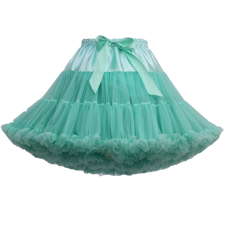 SCFL adulto de lujo suave de la gasa de la enagua de tul falda del ...