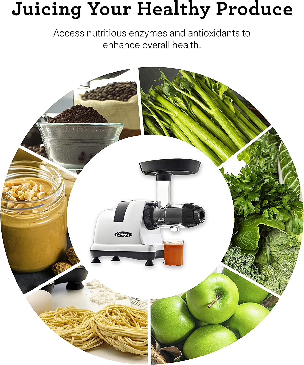 Omega J8006 Nutrition Center Juicer 2