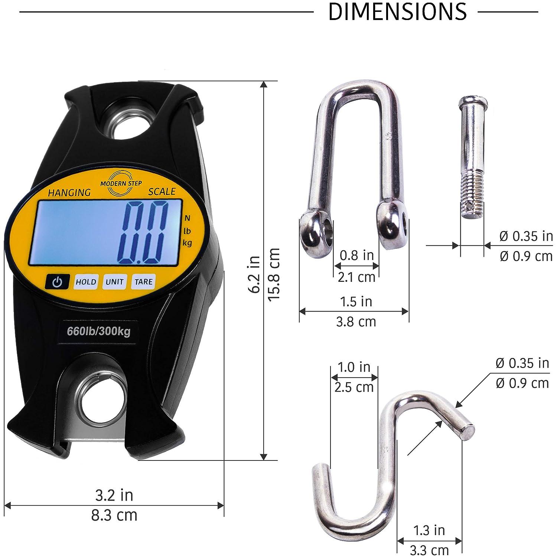 Fishing Farm by Modern Step Blue Digital Professional Crane Scale ...