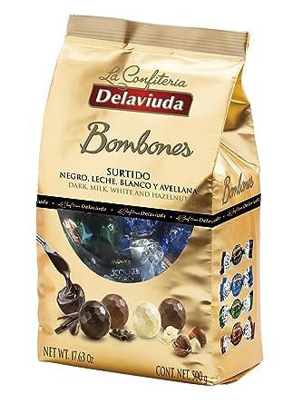 Delaviuda Bombones De Chocolate Surtidos Rellenos: Chocolate ...