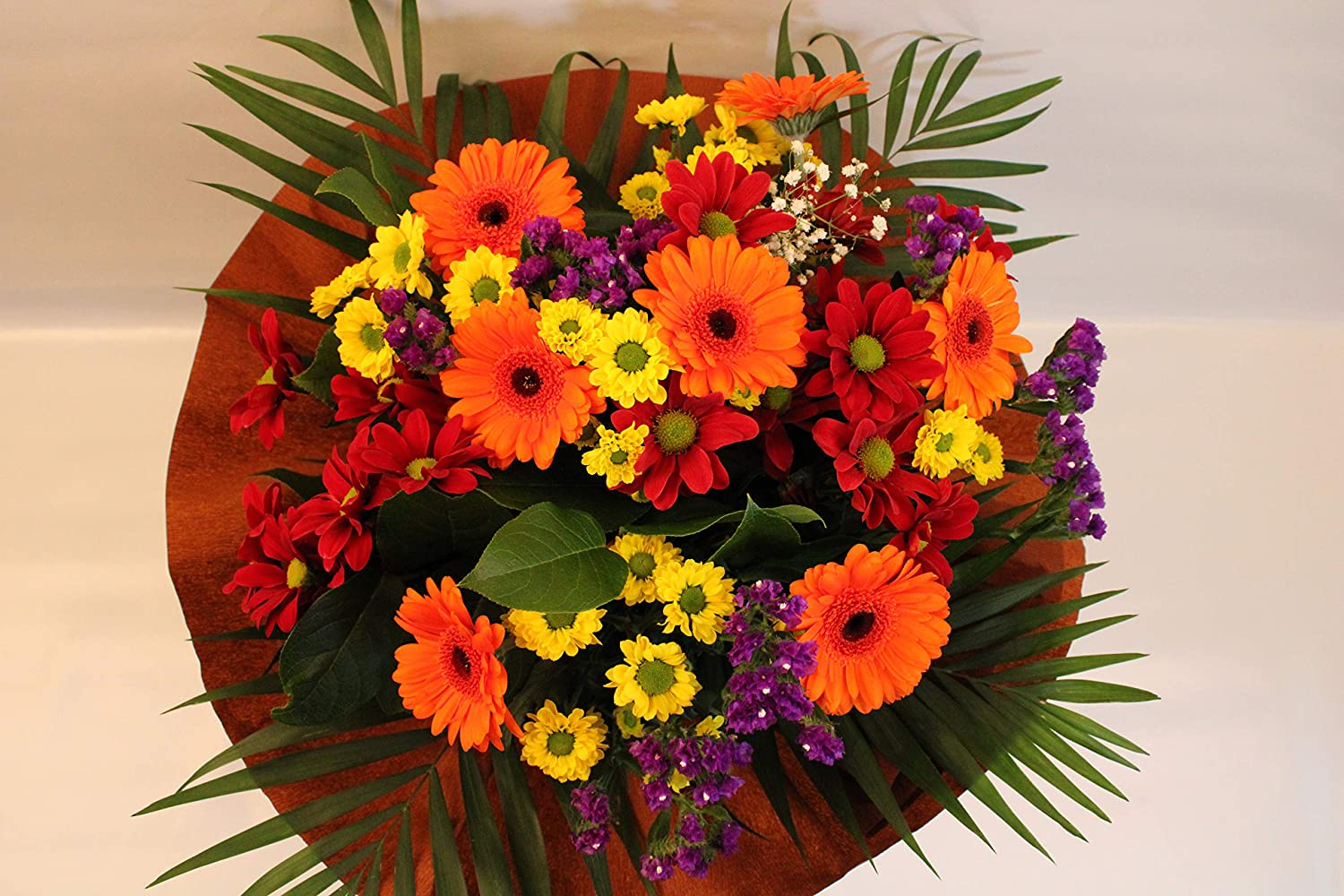 Autumn Burn Bouquet Prime Fresh Flowers Delivered Next Day Free Uk Delivery Special Offer Autumn Burn Bouquet Is A Lovely Gift For All Occasion Low Price Amazon Co Uk Garden Outdoors