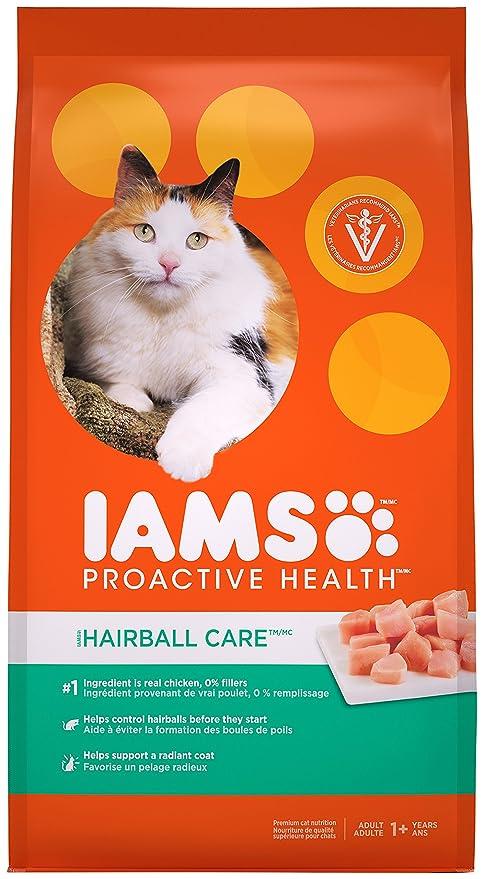 Amazoncom Iams Proactive Health Adult Hairball Care Dry Cat Food