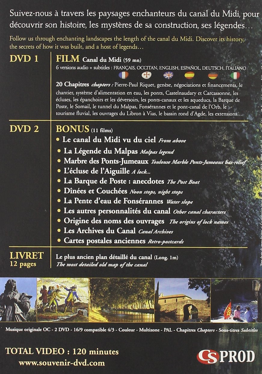 Amazon Com Canal Du Midi Collector 2 Dvd Movies Tv