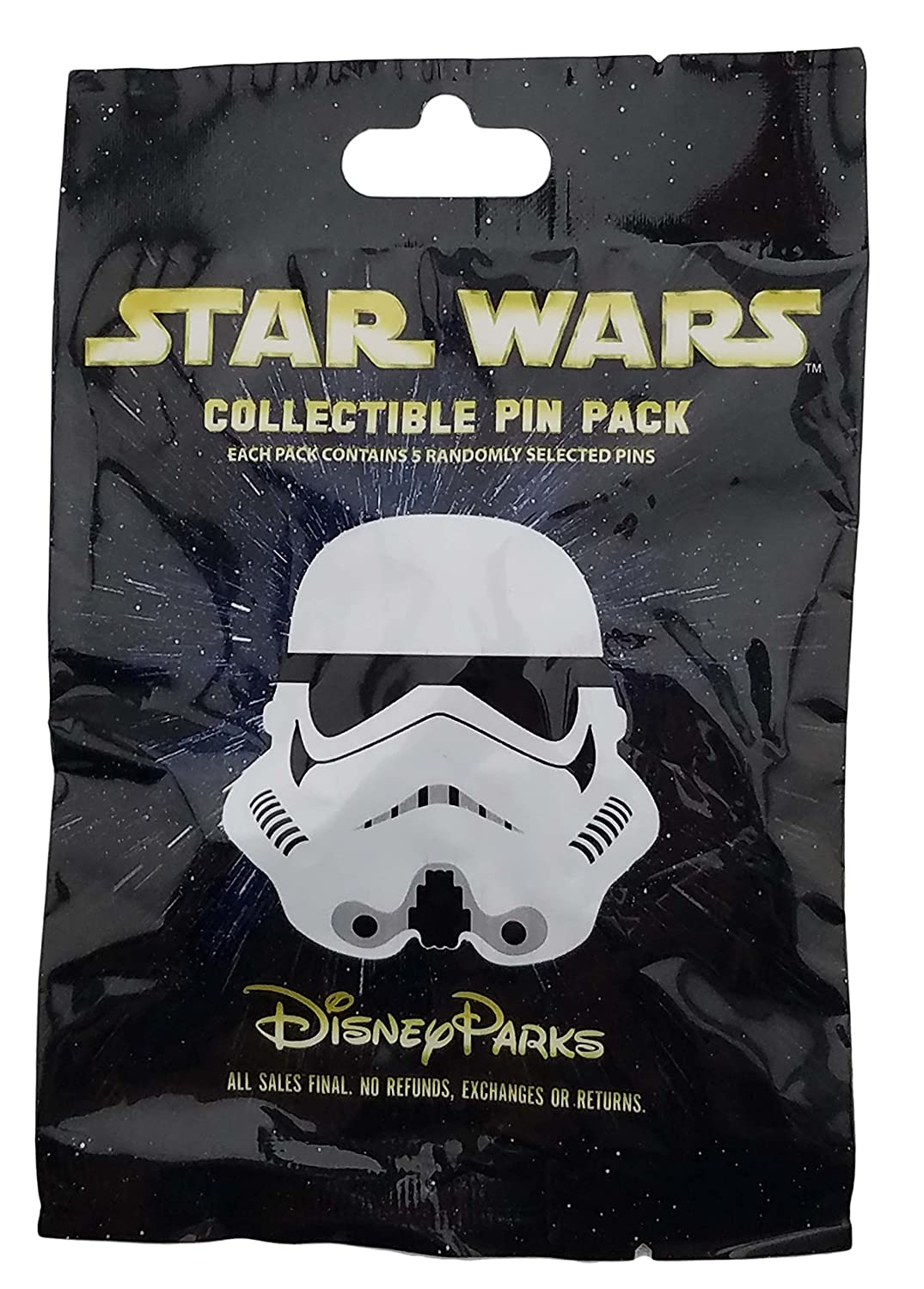 Disney Pin - Star Wars Stormtrooper Helmets Mystery Set