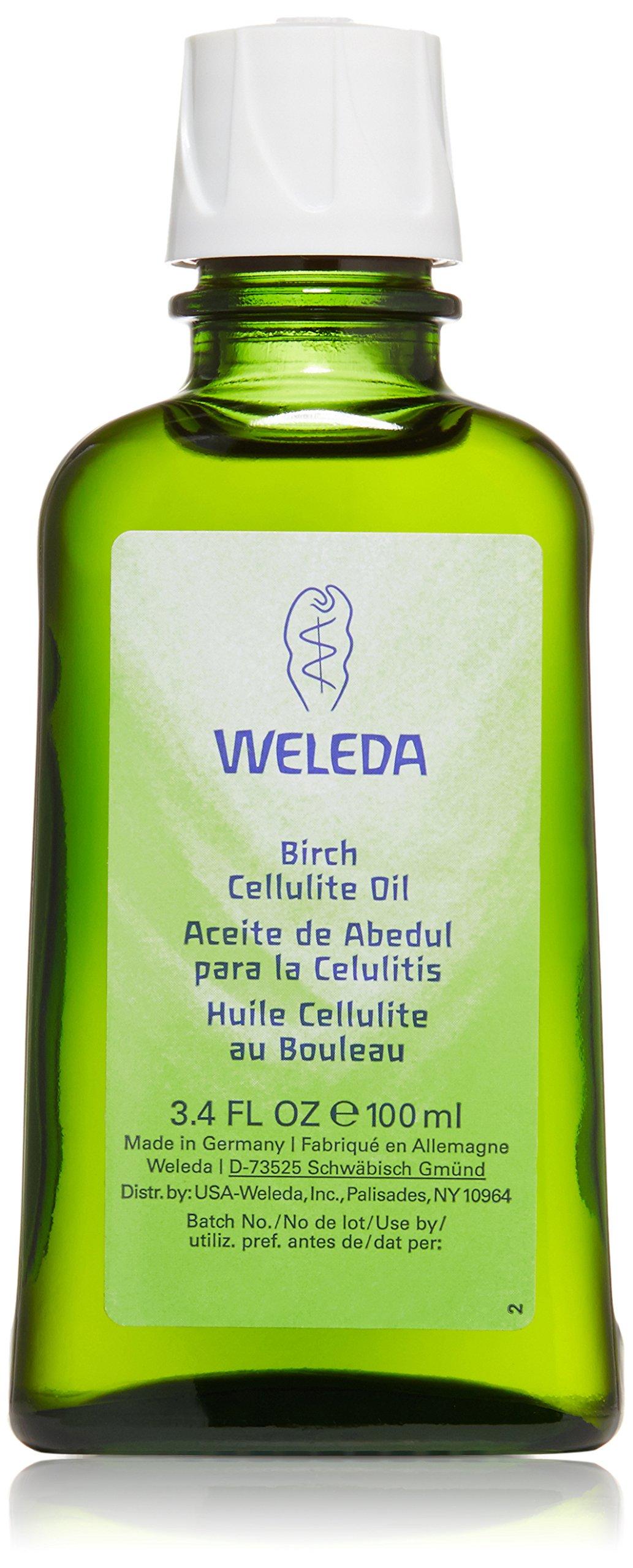 Weleda Birch Cellulite Oil, 3.4 Ounce