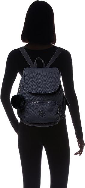 Kipling City Pack S, Mochila para Mujer, Azul (Night Blue Emb), 15x24x45 cm (W x H x L): Amazon.es: Zapatos y ...
