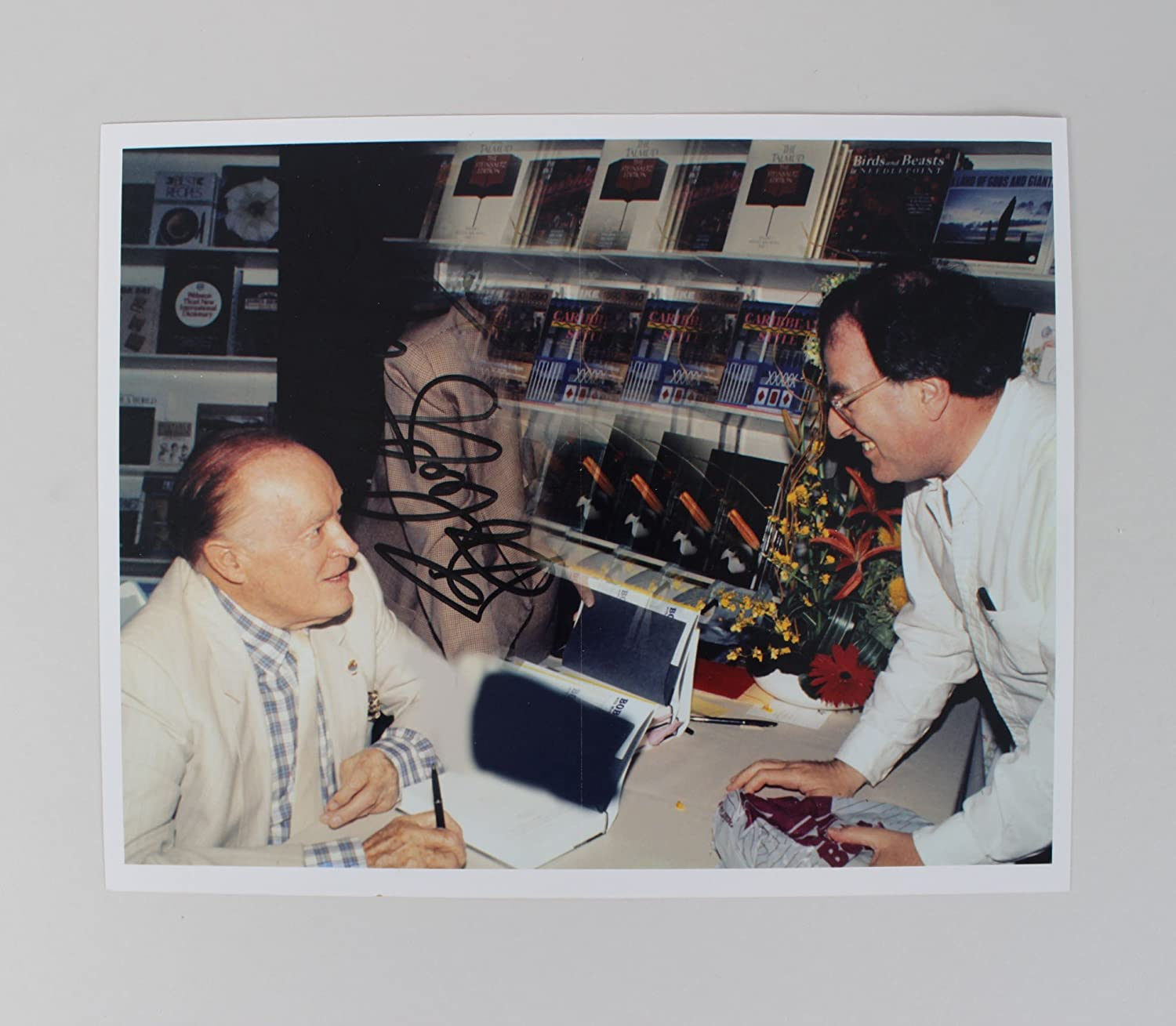 Bob Hope Signed Photo - COA JSA at Amazon's Entertainment Collectibles Store