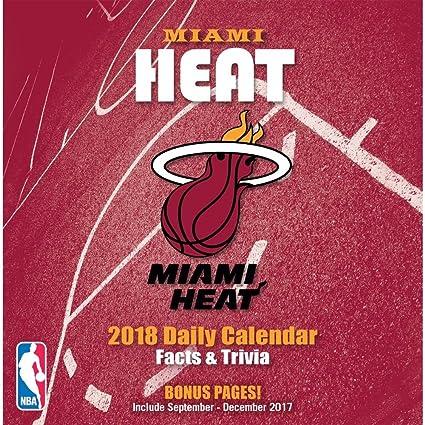 Miami Heat de la NBA para calendario: Amazon.es: Oficina y papelería