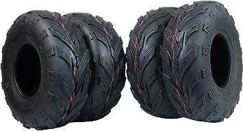 Lawn mini bike Tires 145x70-6 ATV Two New MASSFX  Tires 145//70-6 Go-Kart
