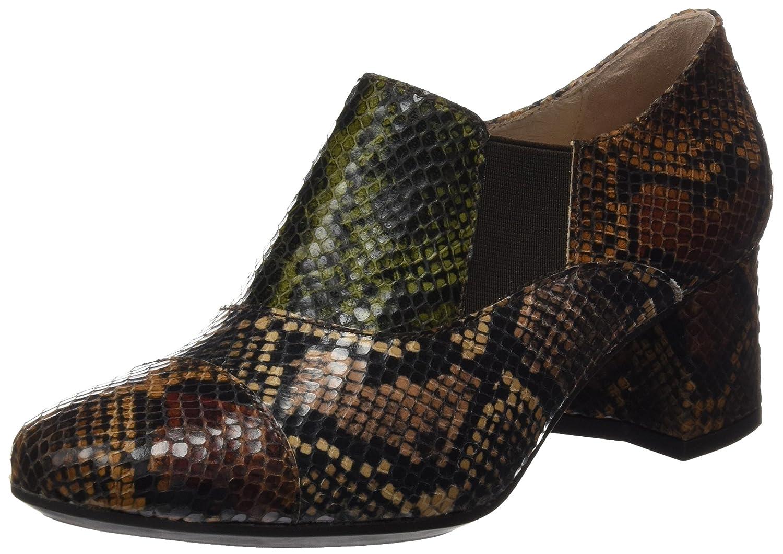 TALLA 38 EU. DCHICAS 4414, Zapatos de tacón con Punta Cerrada para Mujer