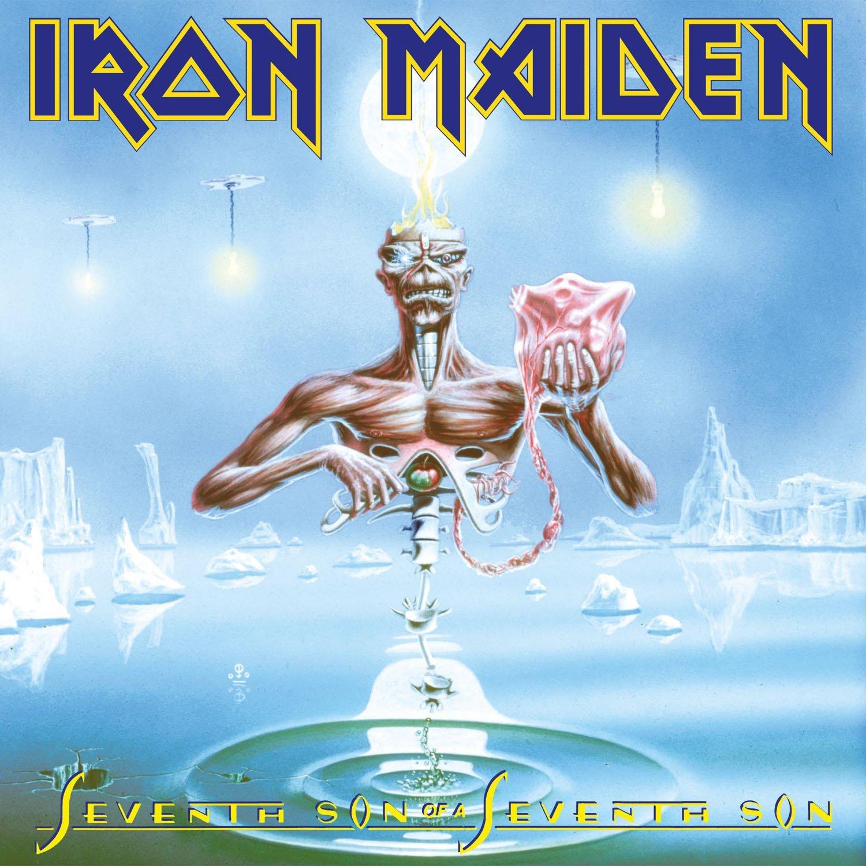 Seventh Son of a Seventh Son [Vinyl LP] - Iron Maiden: Amazon.de: Musik