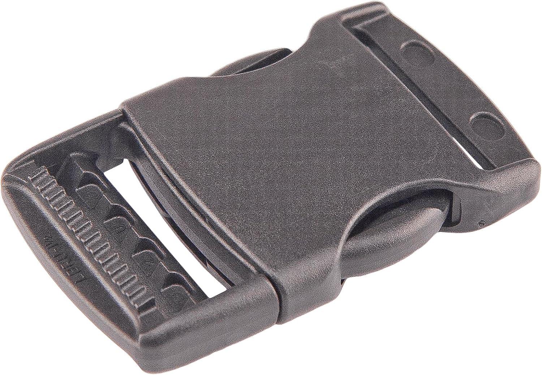 2Pcs Side Release Buckles Clip 10-50mm Webbing Plastic Quick Release Buckles