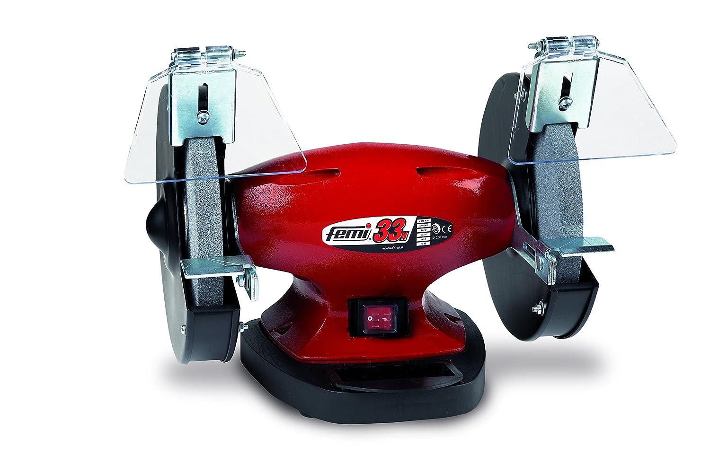 Femi - 33N - Touret à meuler, 200mm, couleur rouge 200mm 550 W - mole Ø 200 mm.