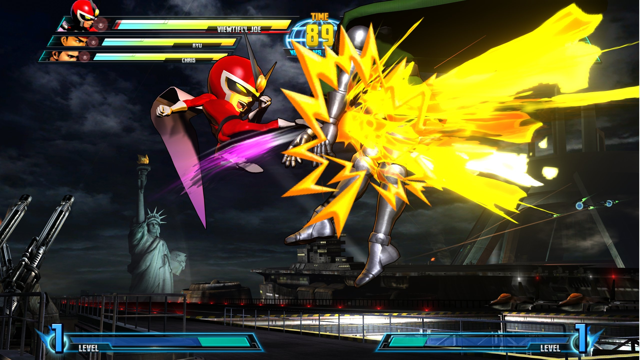 marvel vs capcom 3 apk + data