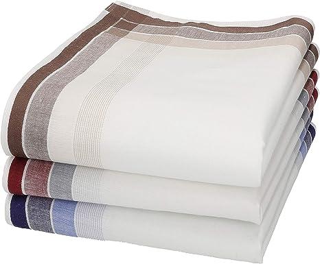 Betz Set de 3 pañuelos para hombres 100% algodon en caja regalo Diseño 4: Amazon.es: Ropa y accesorios