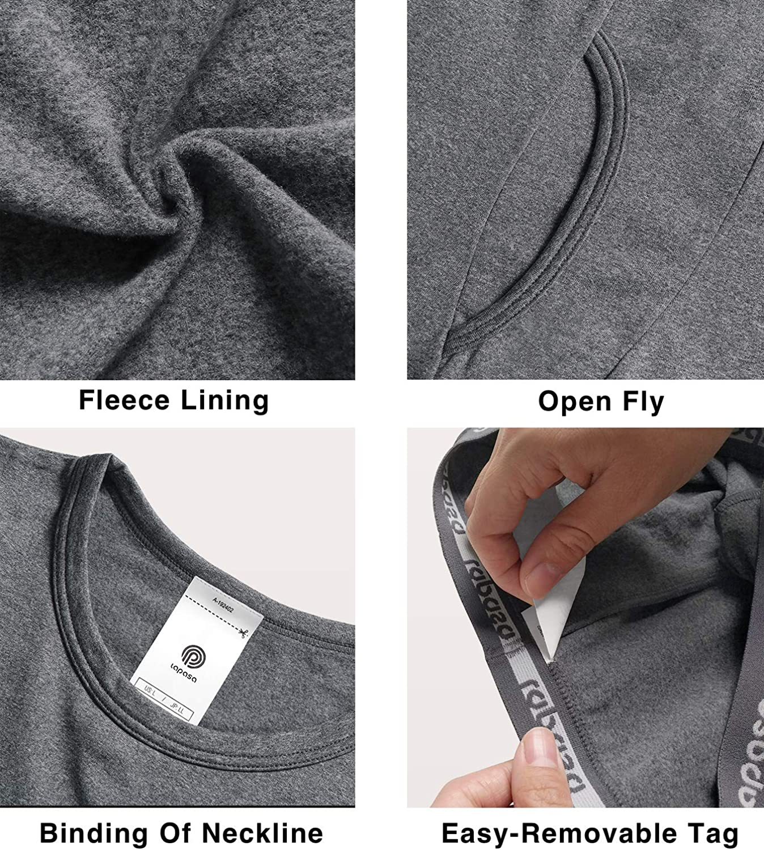Ti Tiene al Caldo Senza Stress T-Shirt Maniche Lunghe /& Pantaloni Invernali B03 LAPASA Boy Set Intimo Termico per Bambini