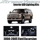 Xtremevision Ford Excursion  Pieces Pure White Premium Interior Led Kit
