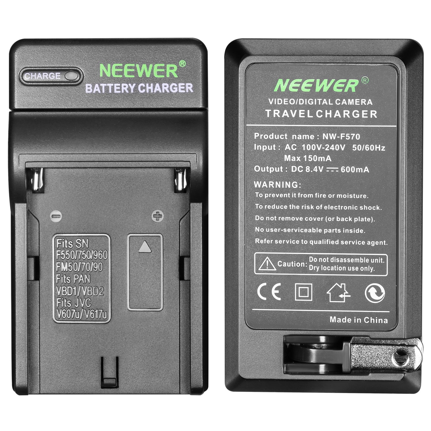 Neewer Dimmable 176 LED Video Light on Camera LED Panel with 2600mAh Li-ion Battery and Charger for Canon, Nikon, Samsung, Olympus and Other Digital SLR Cameras for Photo Studio Video Photography by Neewer (Image #6)