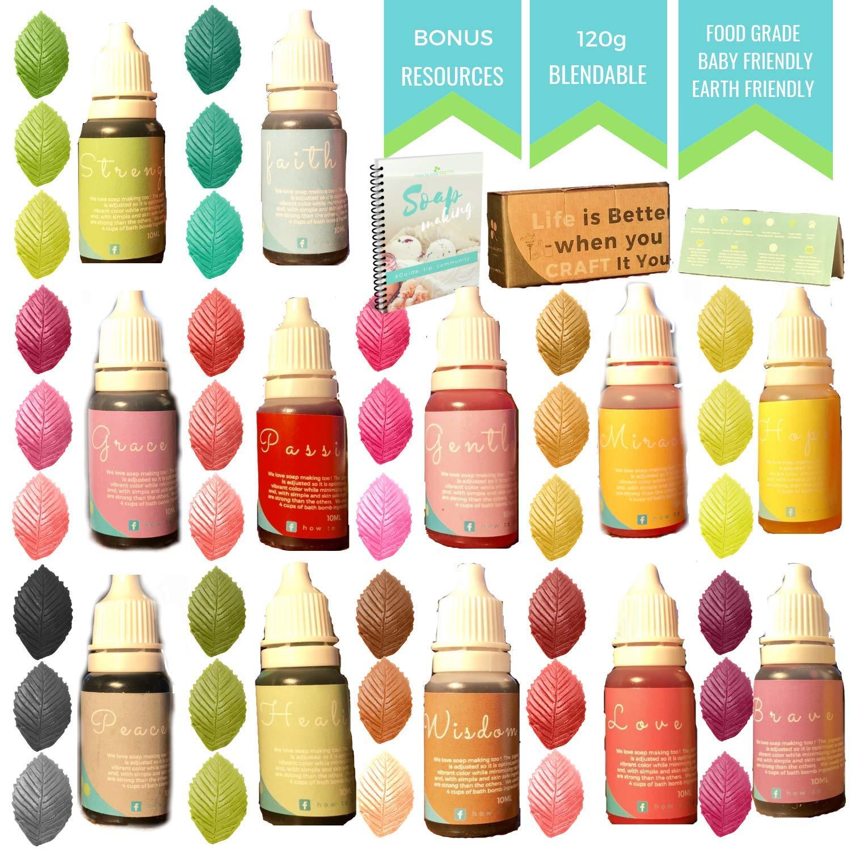 Amazon.com: Skin Safe Food Coloring - 4.3 oz - Slime dye - Bath Bomb ...