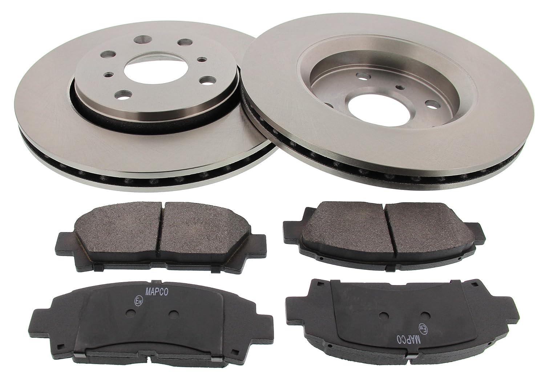 MAPCO Brake Set, disc brakes (47355) - Black/silver MAPCO Autotechnik GmbH