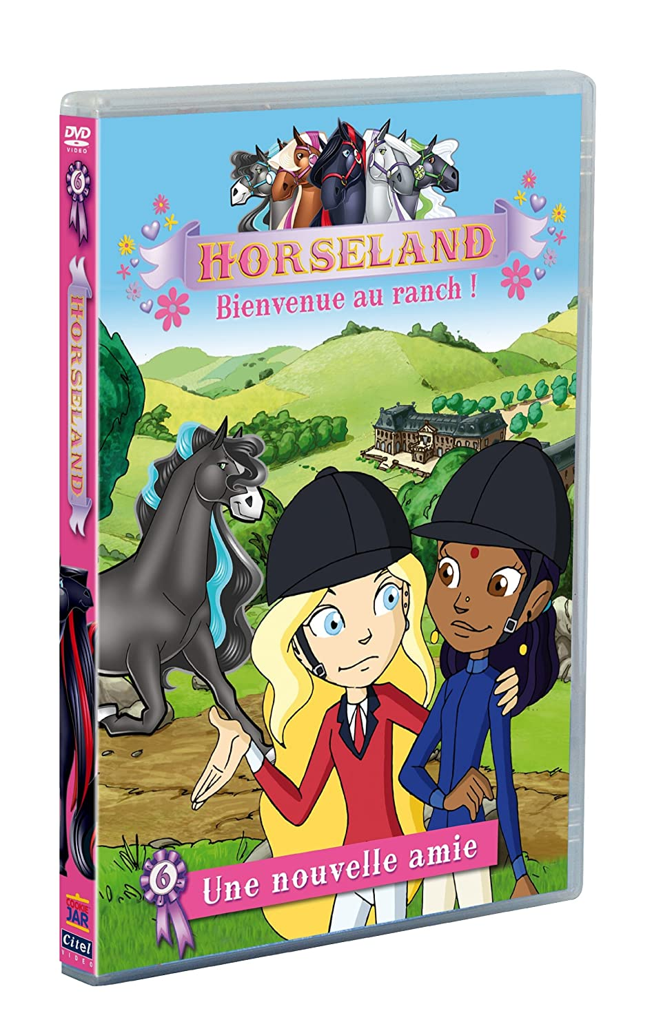 Amazon Com Horseland Bienvenue Au Ranch Vol 6 Une