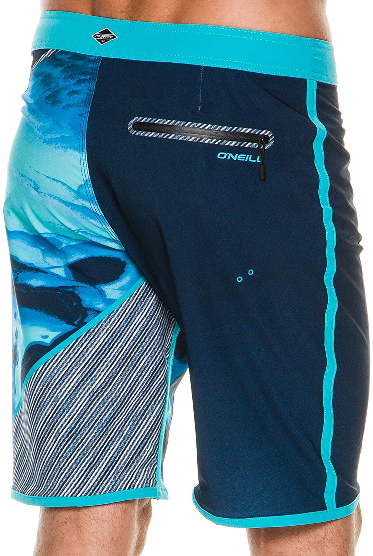 ONeill Mens 21 Inch Outseam Hyperfreak Stretch Swim Boardshort